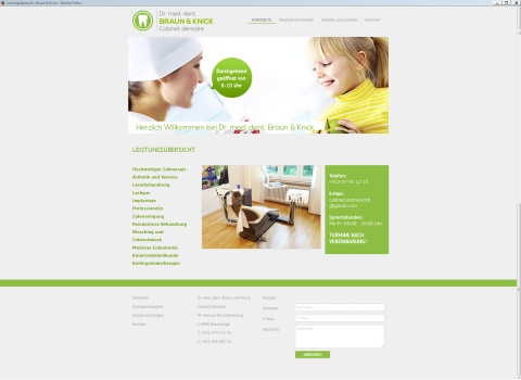 Dentiste Lux - |     Start page